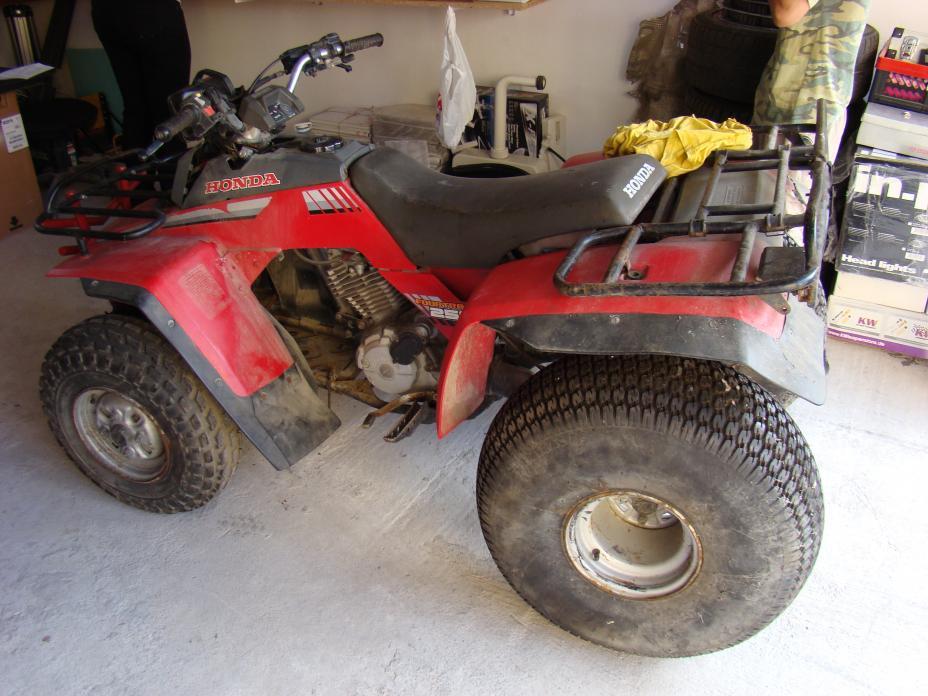 how much hoursepower has 86  trx250 fourtrax  Honda ATV Forum