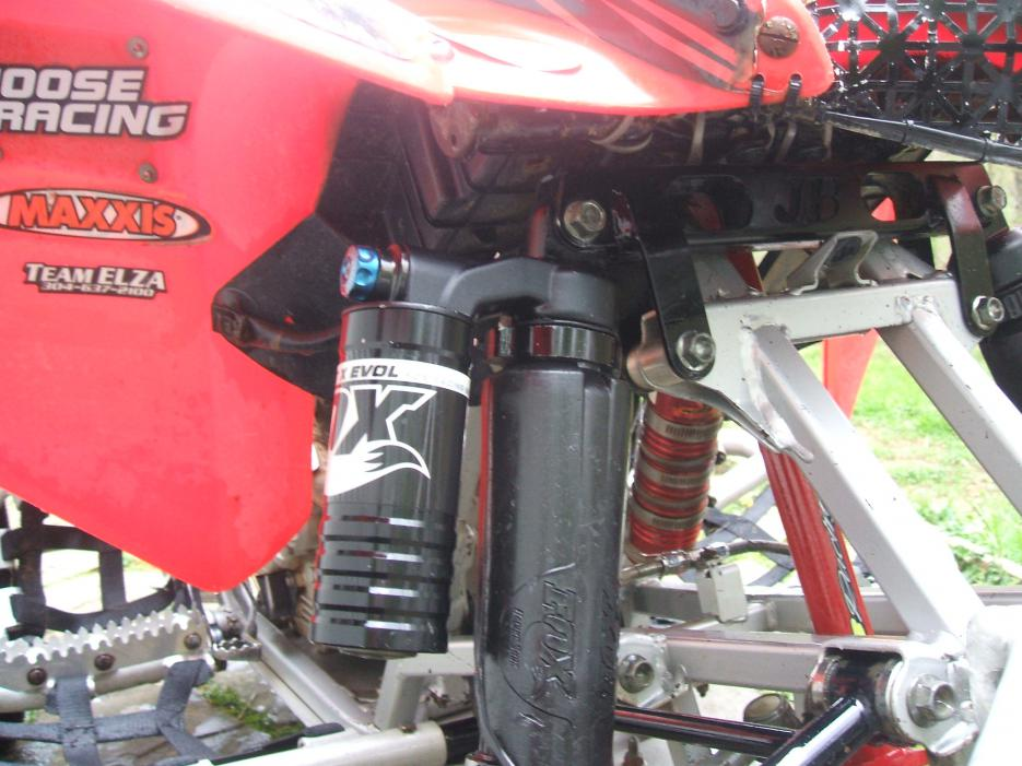 300ex Conversion To 400ex Shocks And A Arms Ride Hight