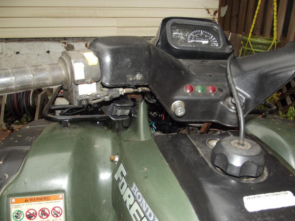 Honda 90 Atv >> Badlands 3000-pound Winch- Install and Review - Honda ATV Forum