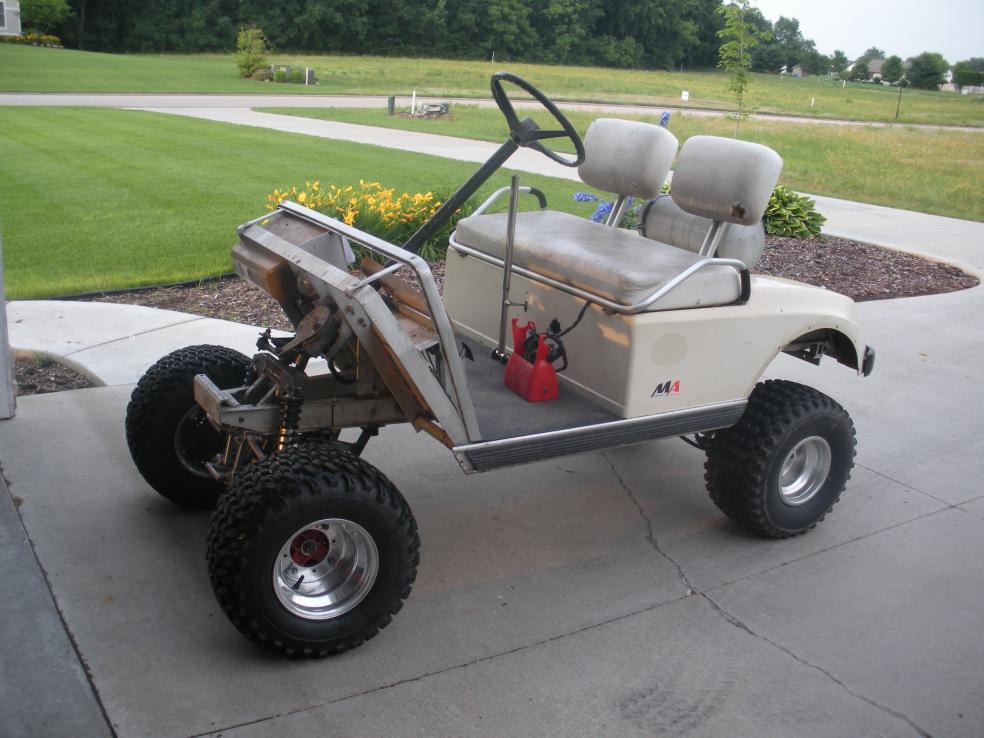 300ex Golf Cart - Honda ATV Forum