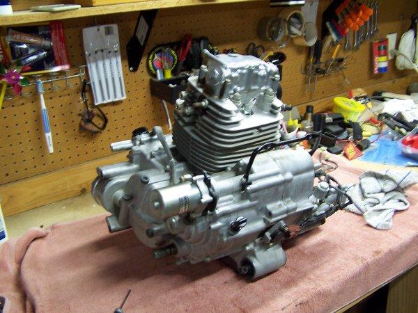 U0026 39 05 Rancher 400fa At Engine Rebuild