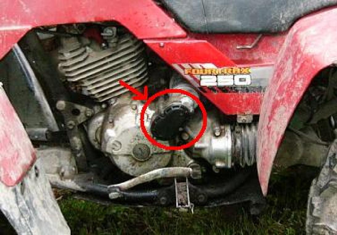 Honda Fourtrax 300 Kickstart Diagram Electrical Wiring 1986 250 Starter Issue Atv Forum Rh Hondaatvforums Net Transmission Manual