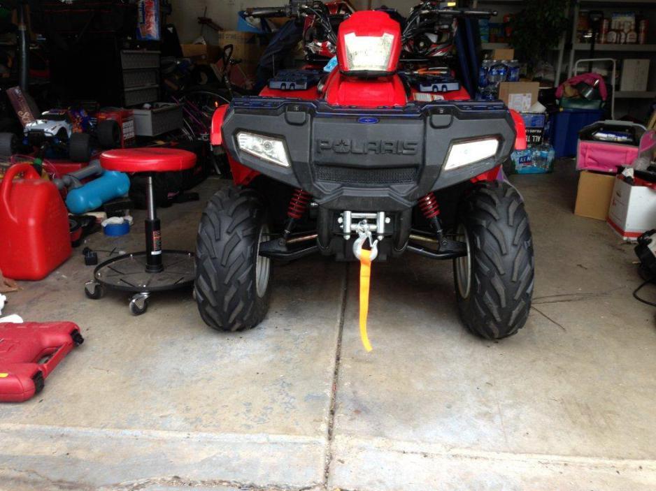 Honda ATV Forum - View Single Post - Polaris Sportsman 90 winch install