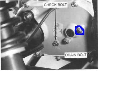 Gearbox Drain Plug On Trx300 Fw Honda Atv Forum