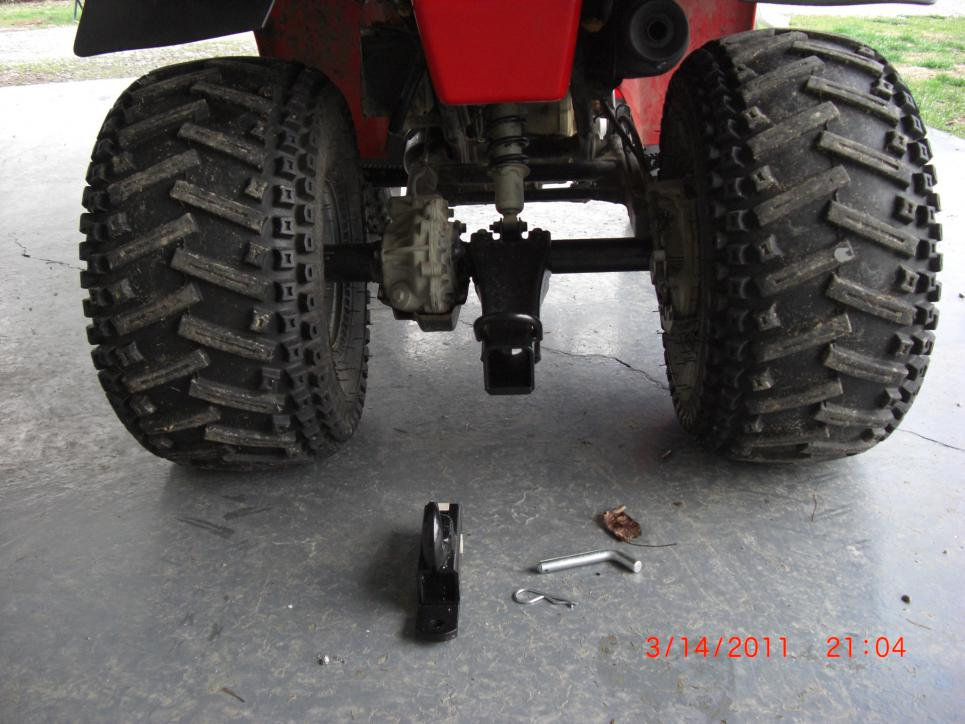 Newbie With Questions About Winch Mount Honda Atv Forum