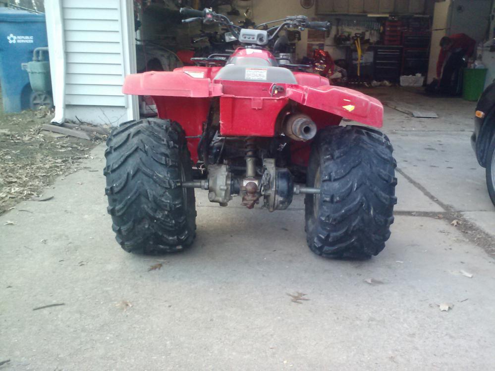 HELP!! 1991 300 Fourtrax straight axle - Honda ATV Forum