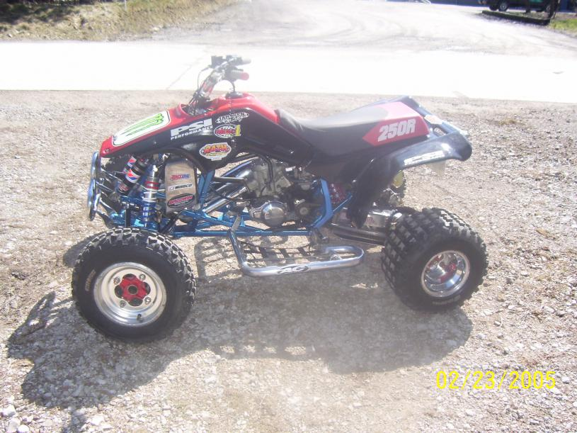 15 year old racing a trx250r. - Honda ATV Forum