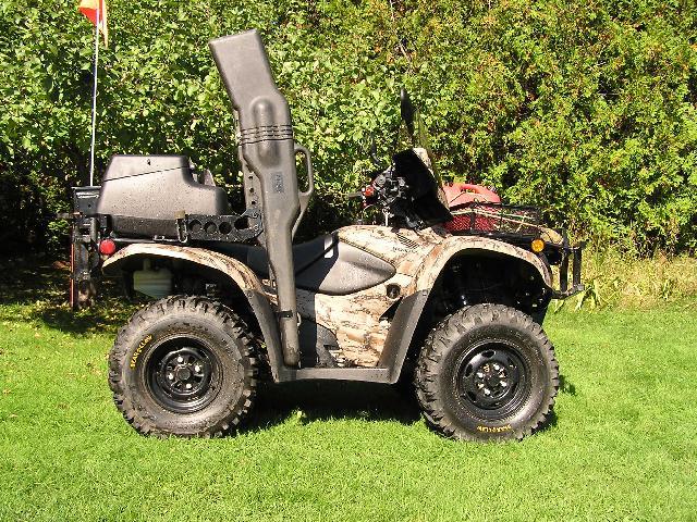 Kolpin Gun Boot Shortened Honda Atv Forum