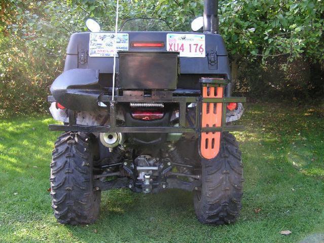 84 HONDA TRX200 REAR RACK LUGGAGE CARRIER MOUNTING BRACKET BOLT /& BUSHING