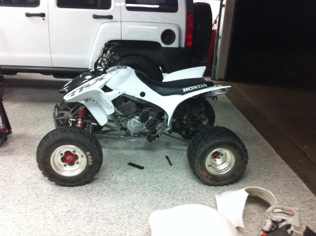 98 300EX Facelift - Honda ATV Forum