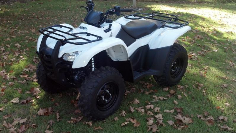 2014 Honda Rancher AT IRS PS  White  Honda ATV Forum
