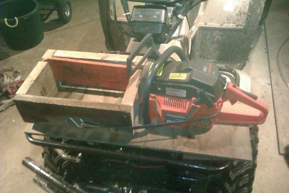 Chainsaw Mount Honda Atv Forum