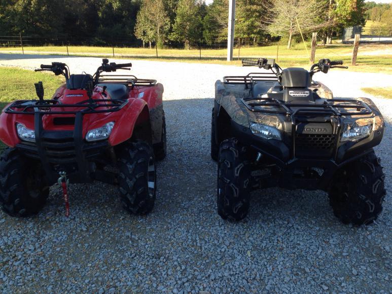 2014 rancher AT tires  Honda ATV Forum