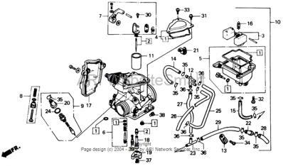 2003 honda rancher 350 carburetor hose diagram hose. Black Bedroom Furniture Sets. Home Design Ideas