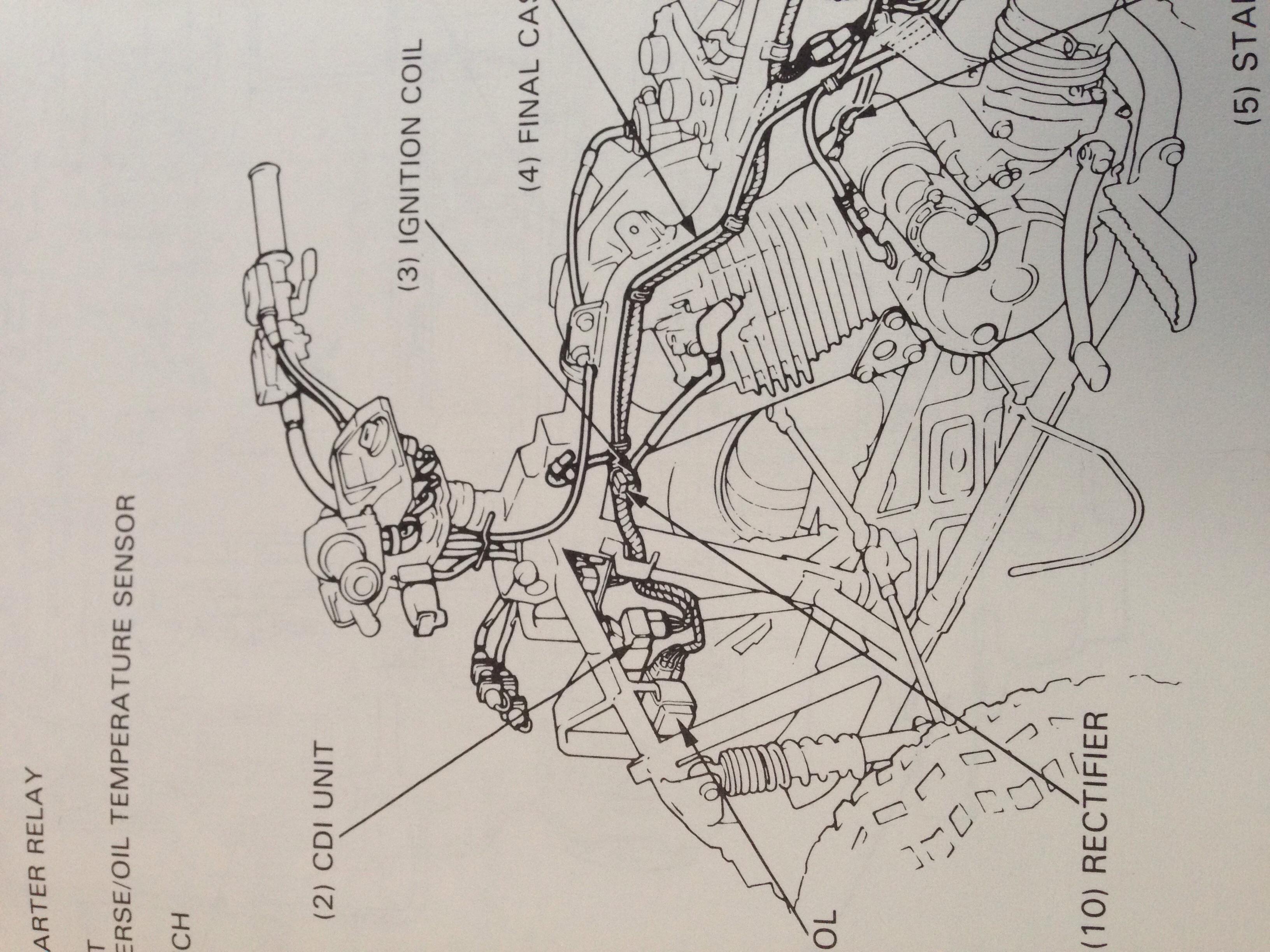 Honda Trx300ex Wiring Diagram Control 2000 300ex Wire Color Code 250ex No Spark 1999