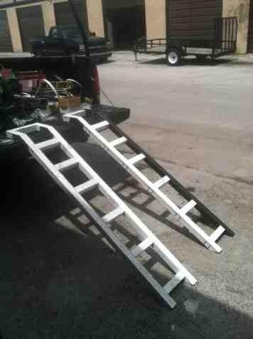Aluminum Atv Ramps >> My DIY atv ramps - Honda ATV Forum