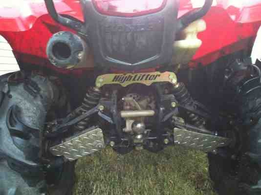 High lifter signature lift 420 irs - Honda ATV Forum