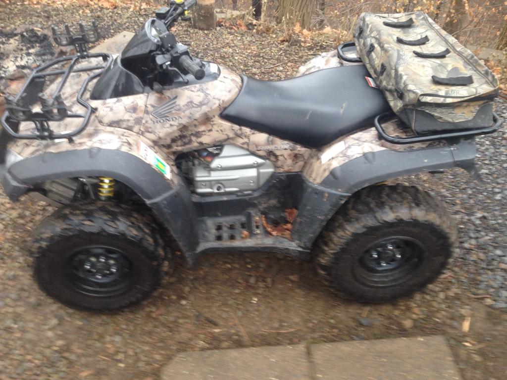 Post a pic up of your quad - Honda ATV Forum