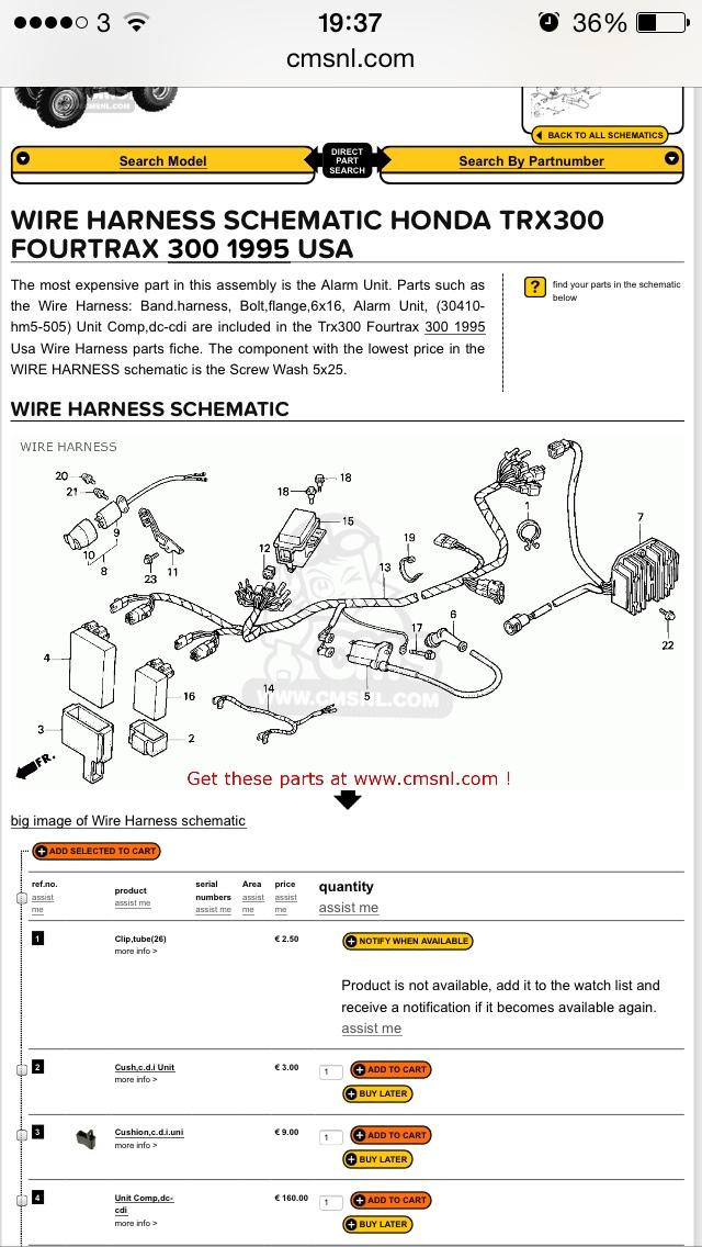 trx300 diode help please page 2 honda atv forum rh hondaatvforums net 1985 Honda TRX 250 Wiring Diagram 1985 Honda TRX 250