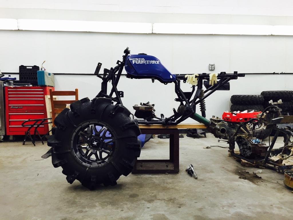 Fourtrax 300 Build - Page 4 - Honda ATV Forum