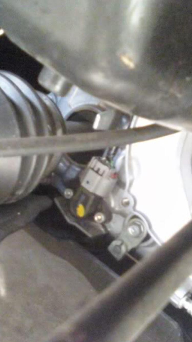 Angle sensor replacement - Honda ATV Forum