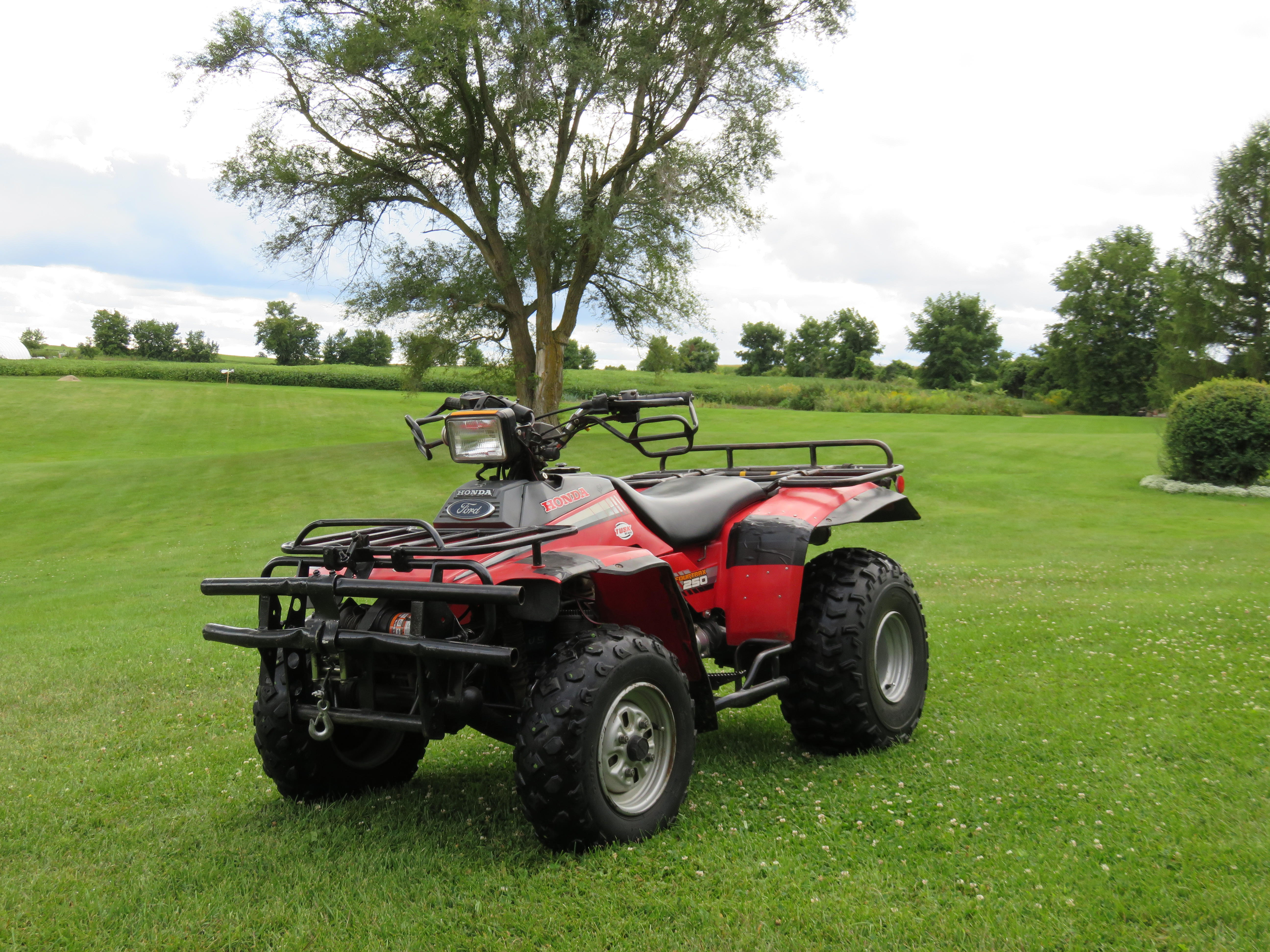 Ideas How To Customize My '86 TRX250 Fourtrax?