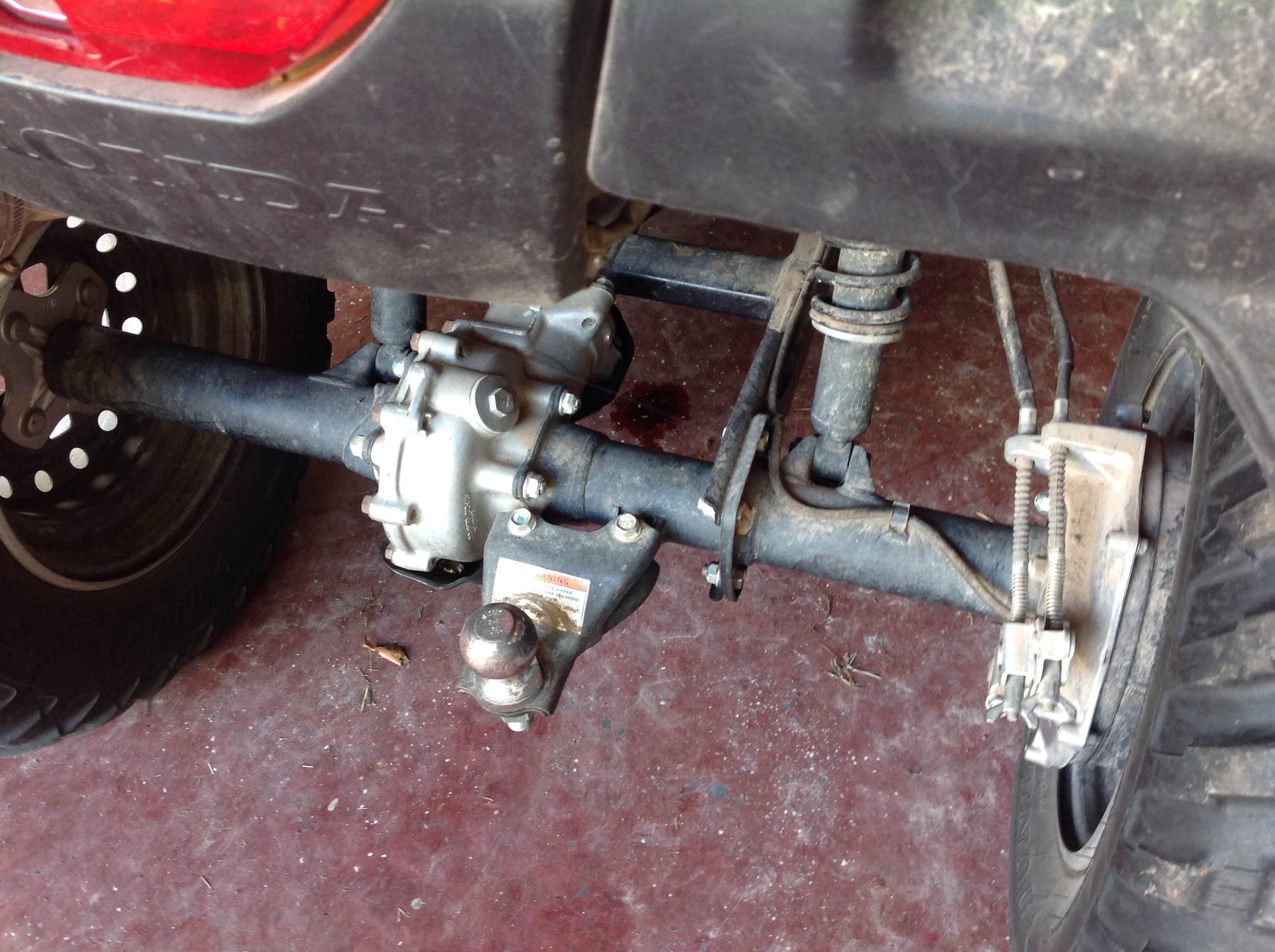 oil leak from   honda atv forum