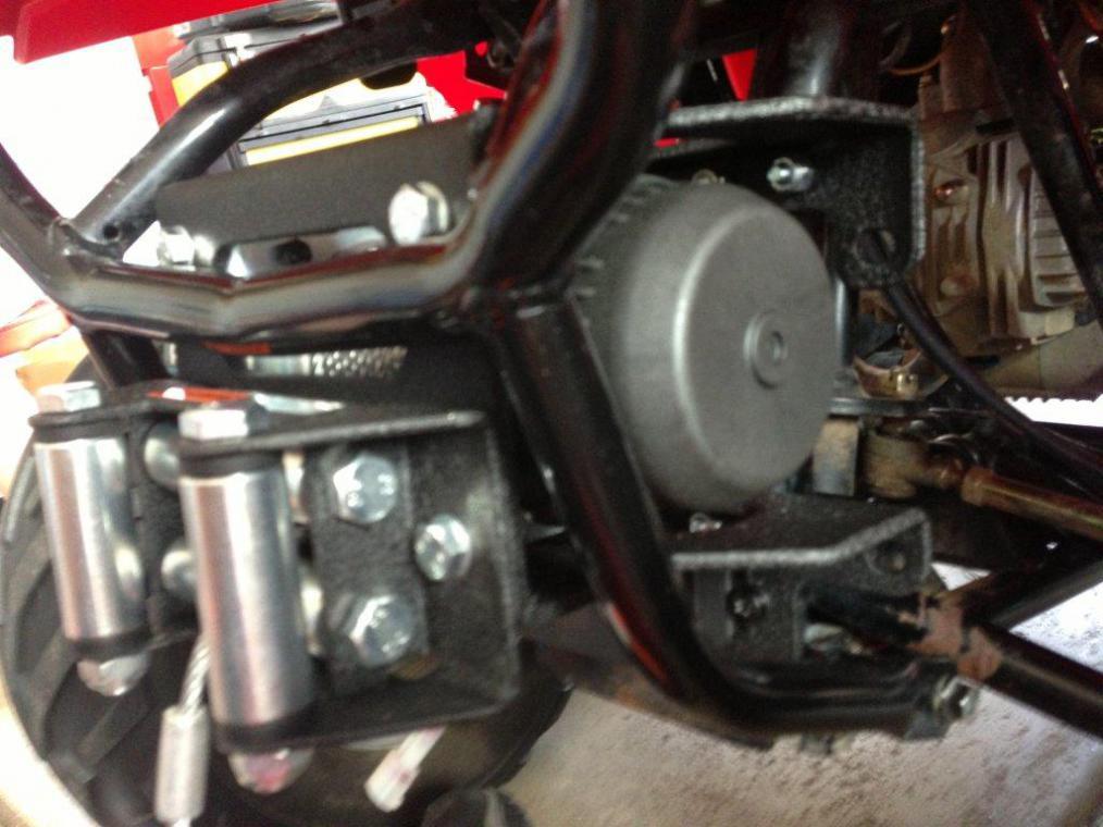 Polaris Sportsman 90 Winch Install Honda Atv Forum