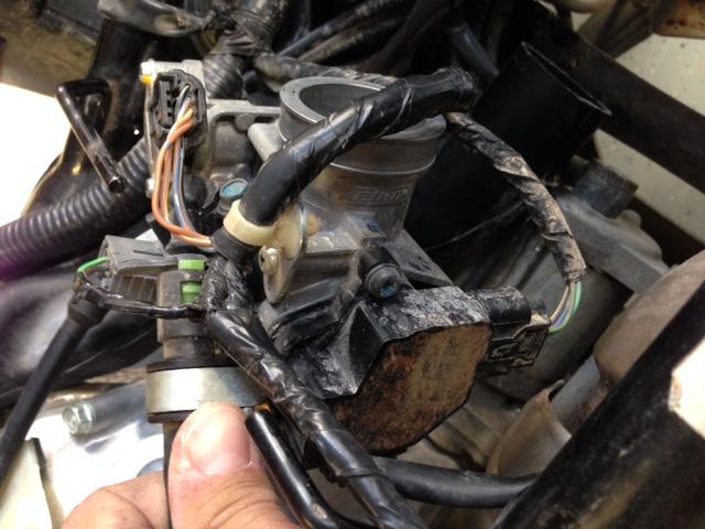 2008 Rancher Trx 420  4x4  Throttle Problem