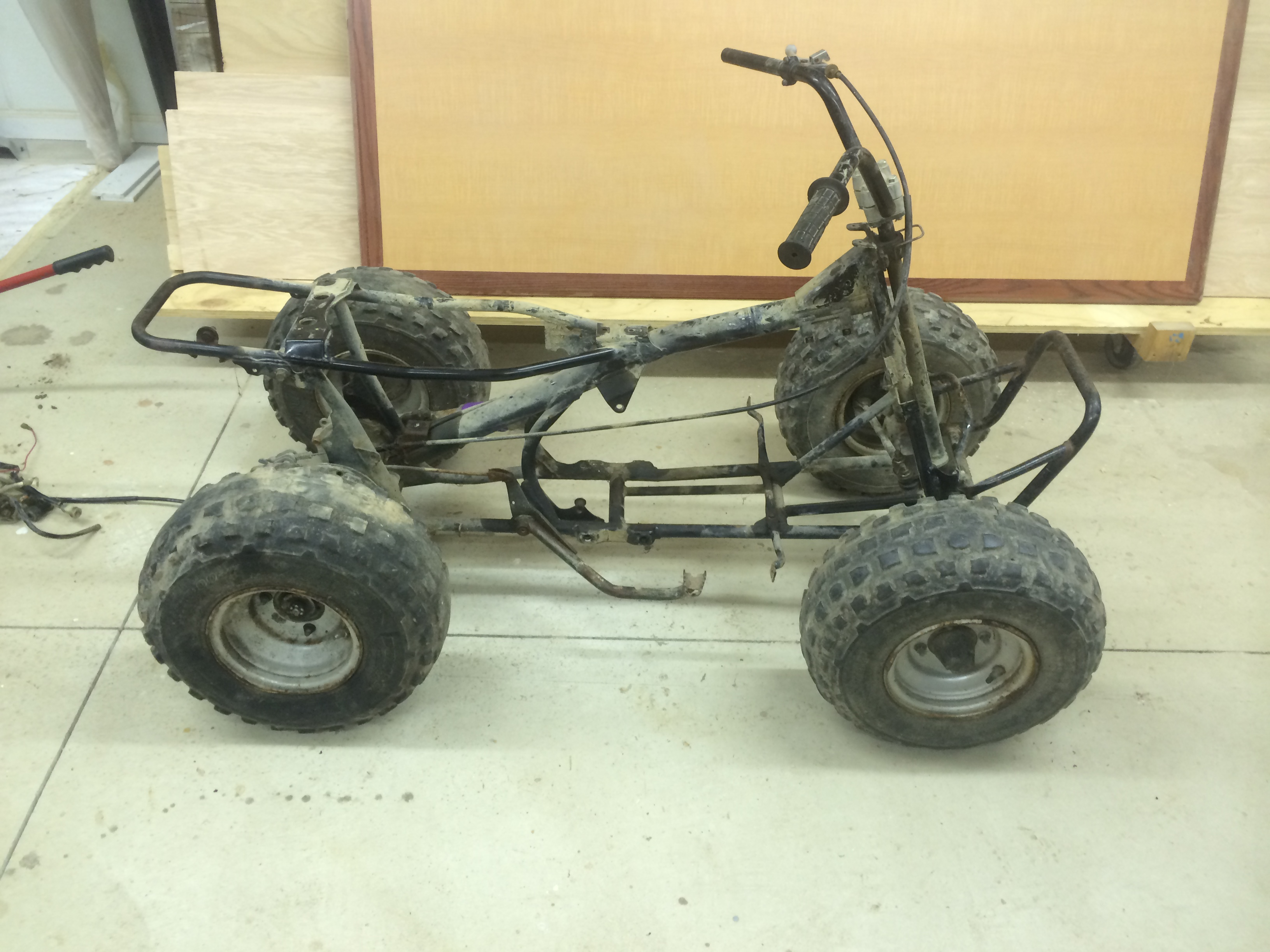 1987 yamaha moto 4 80 build/rebuild - honda atv forum