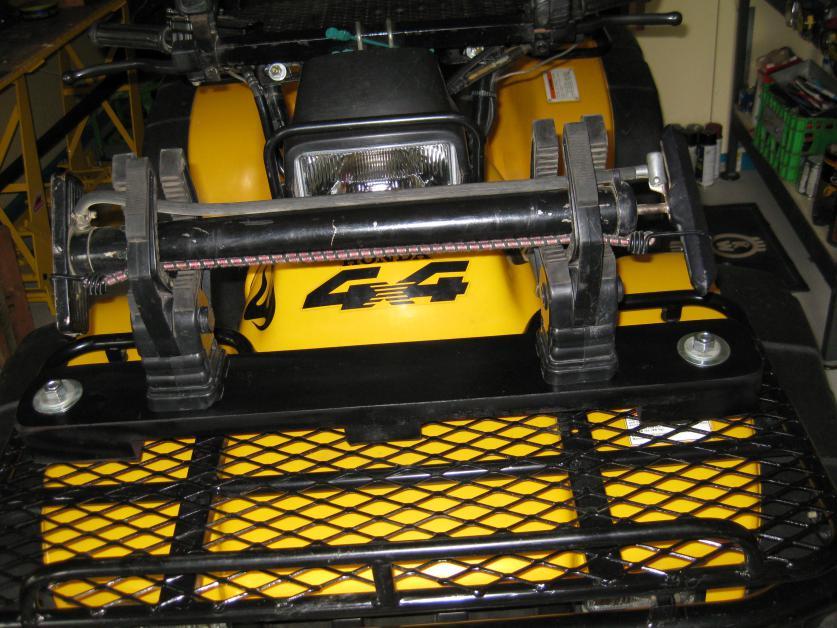 Gun Case Mounted To The Front Rack Honda Atv Forum