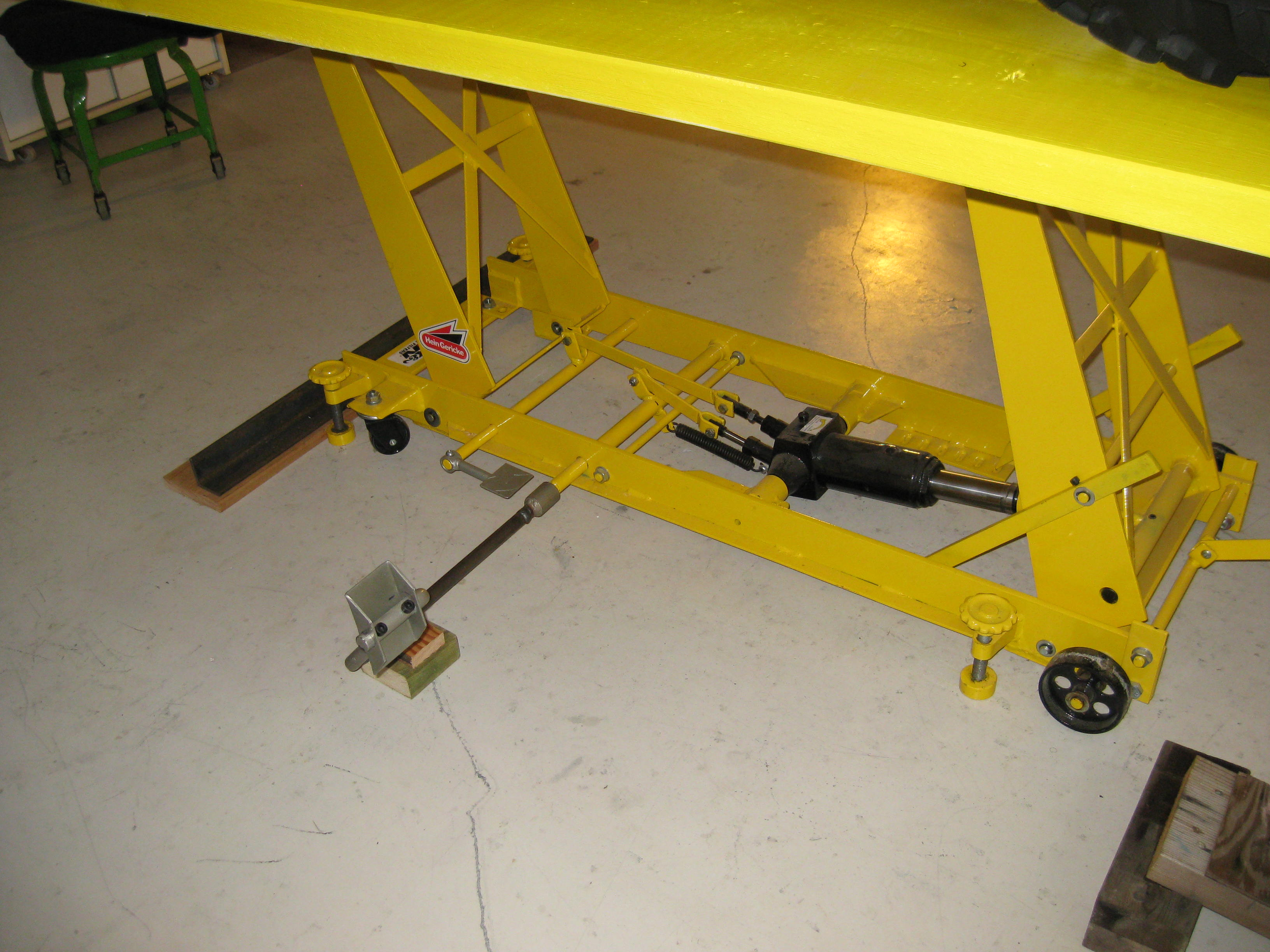 Diy Motorcycle Lift Table Plans Craft Clublilobal