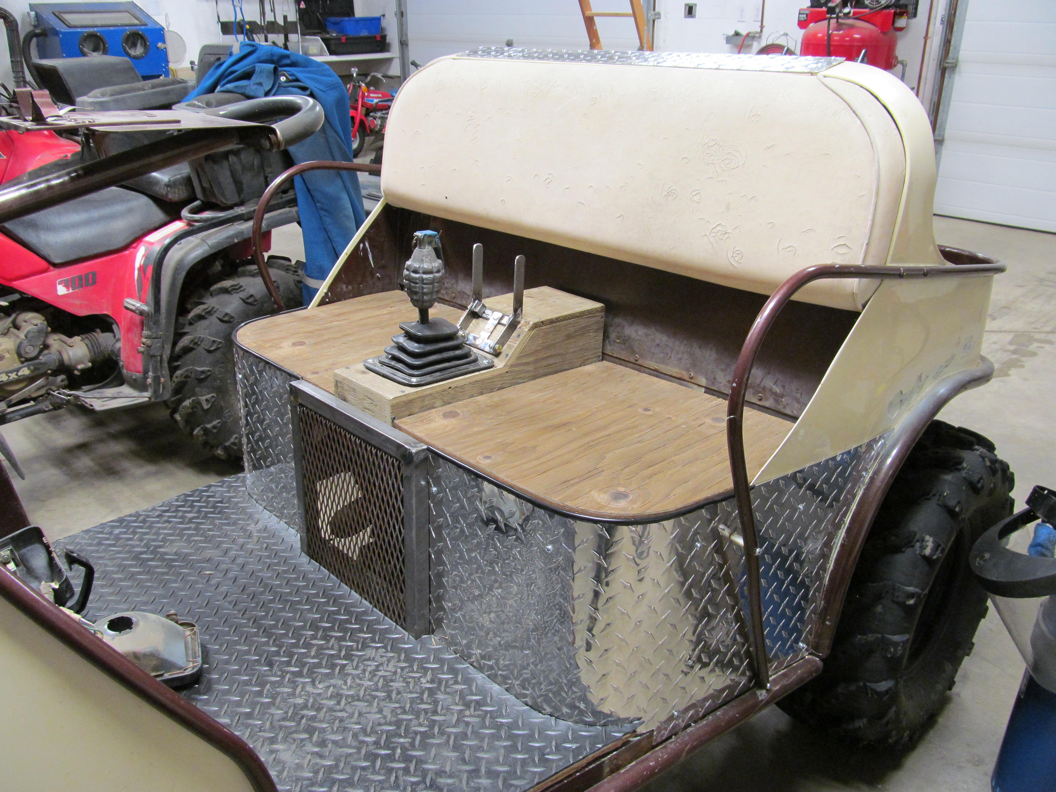 Honda Powered 3 Wheel Golf Cart Honda Atv Forum
