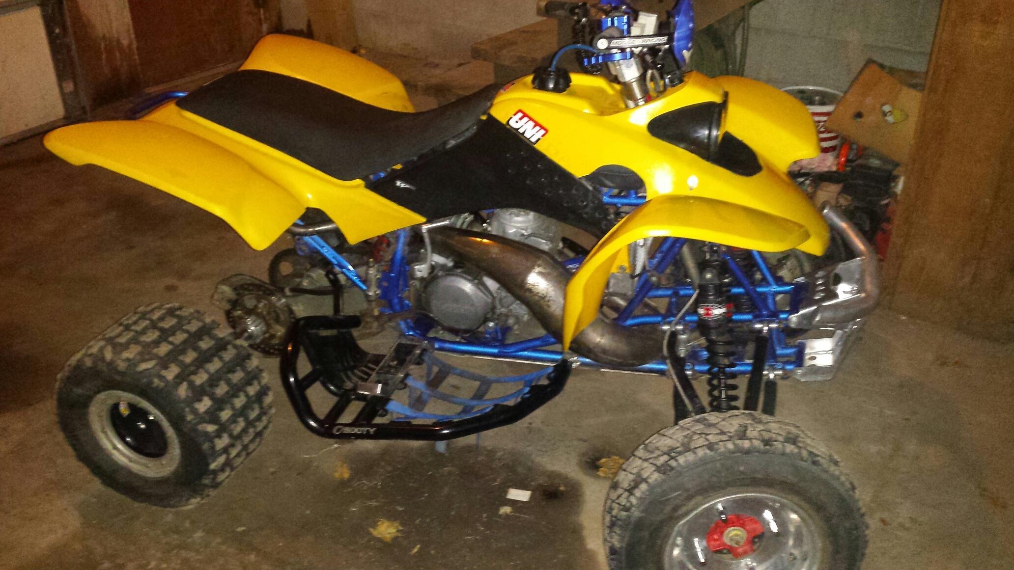Cr250ex  400ex    Cr250r Hybrid