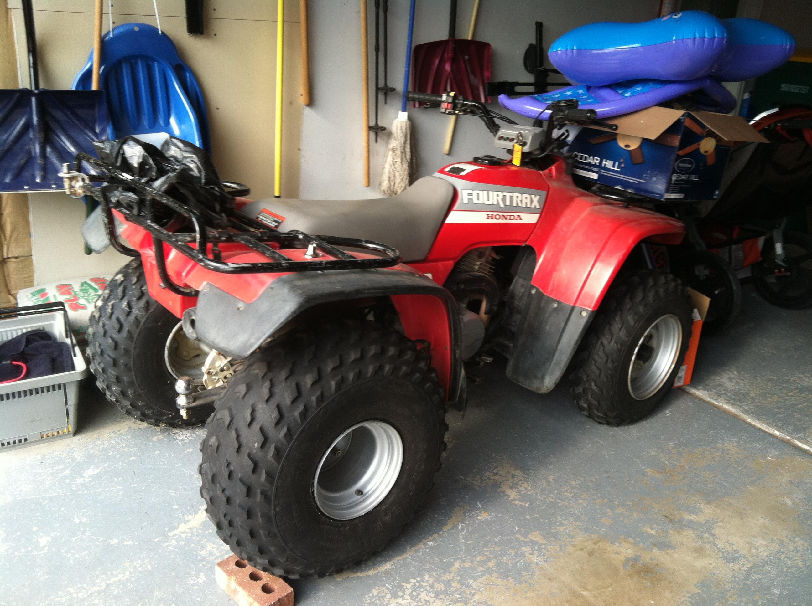 Honda Fit Rim Size >> 1988 FourTrax 2wd300 - old tires/wheels. Need upgrade size! - Honda ATV Forum