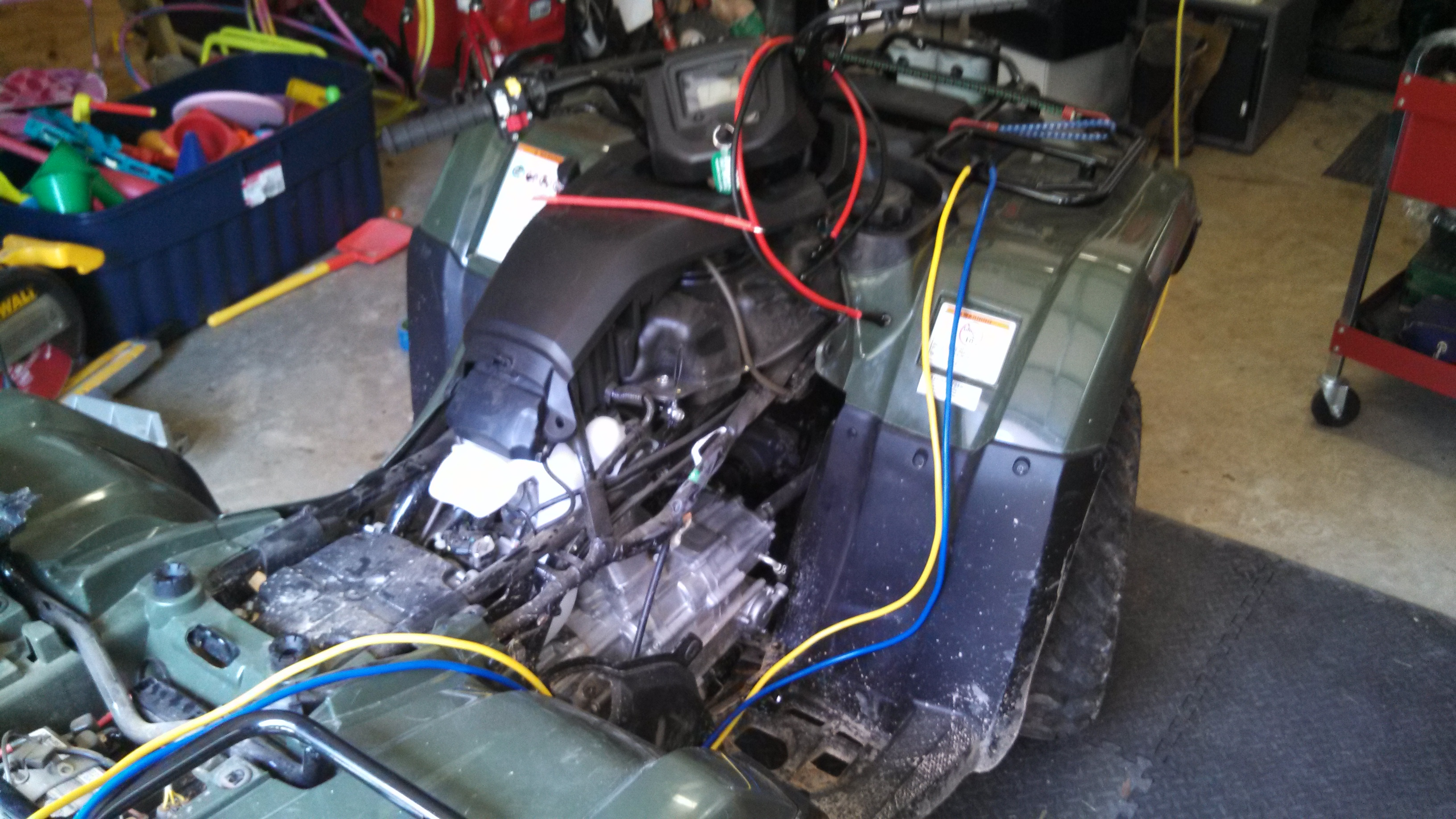 2015 Atv Warn Winch Wiring Detailed Diagrams Xt40 Diagram 2014 Rancher Fm1 Terra 35 Install Page 3 Honda Forum Switch