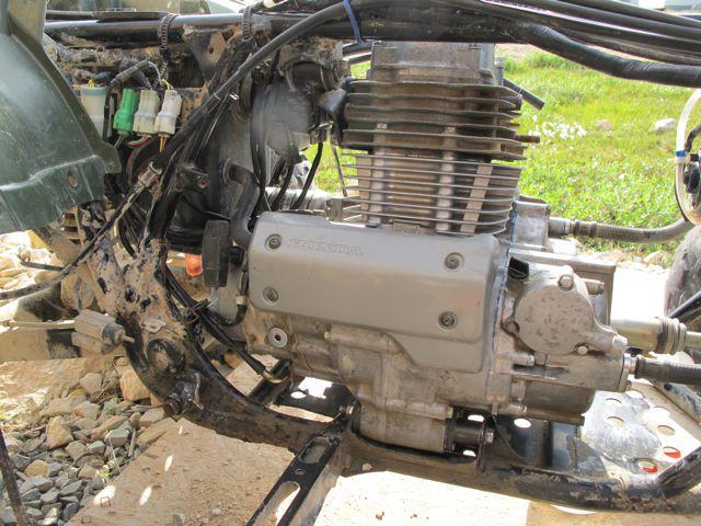honda rancher 350 motor rebuild