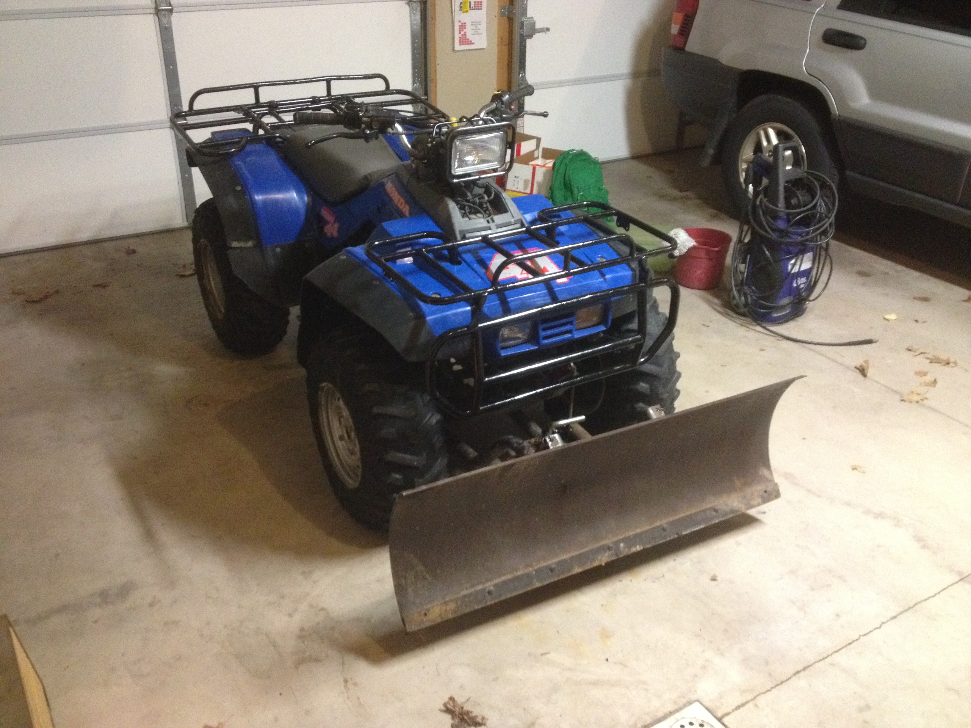 1987 TRX350D Fourtrax Foreman Starting Issues - Honda ATV Forum