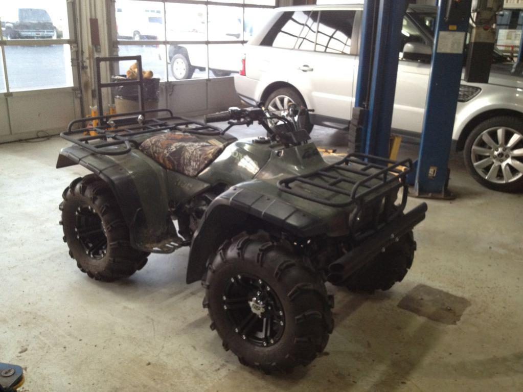 Zillas or Mudlites for my 99 honda 300 fourtrax 4x4 ...