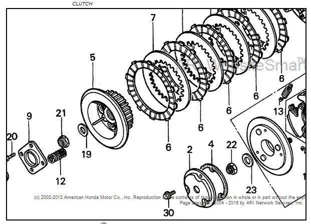 1999 honda recon clutch nut sizes honda atv forum Standard Hex Nut Size Chart click image for larger version name nut size views 467 size