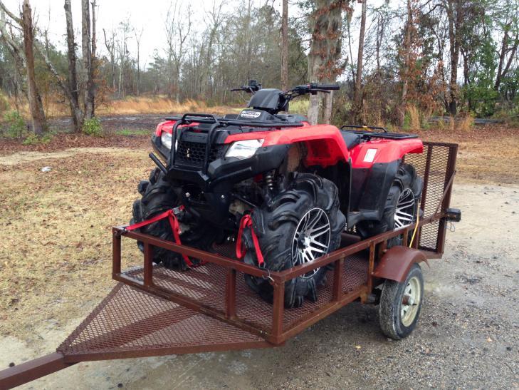 14 Rancher on 295 outlaw 2  Honda ATV Forum