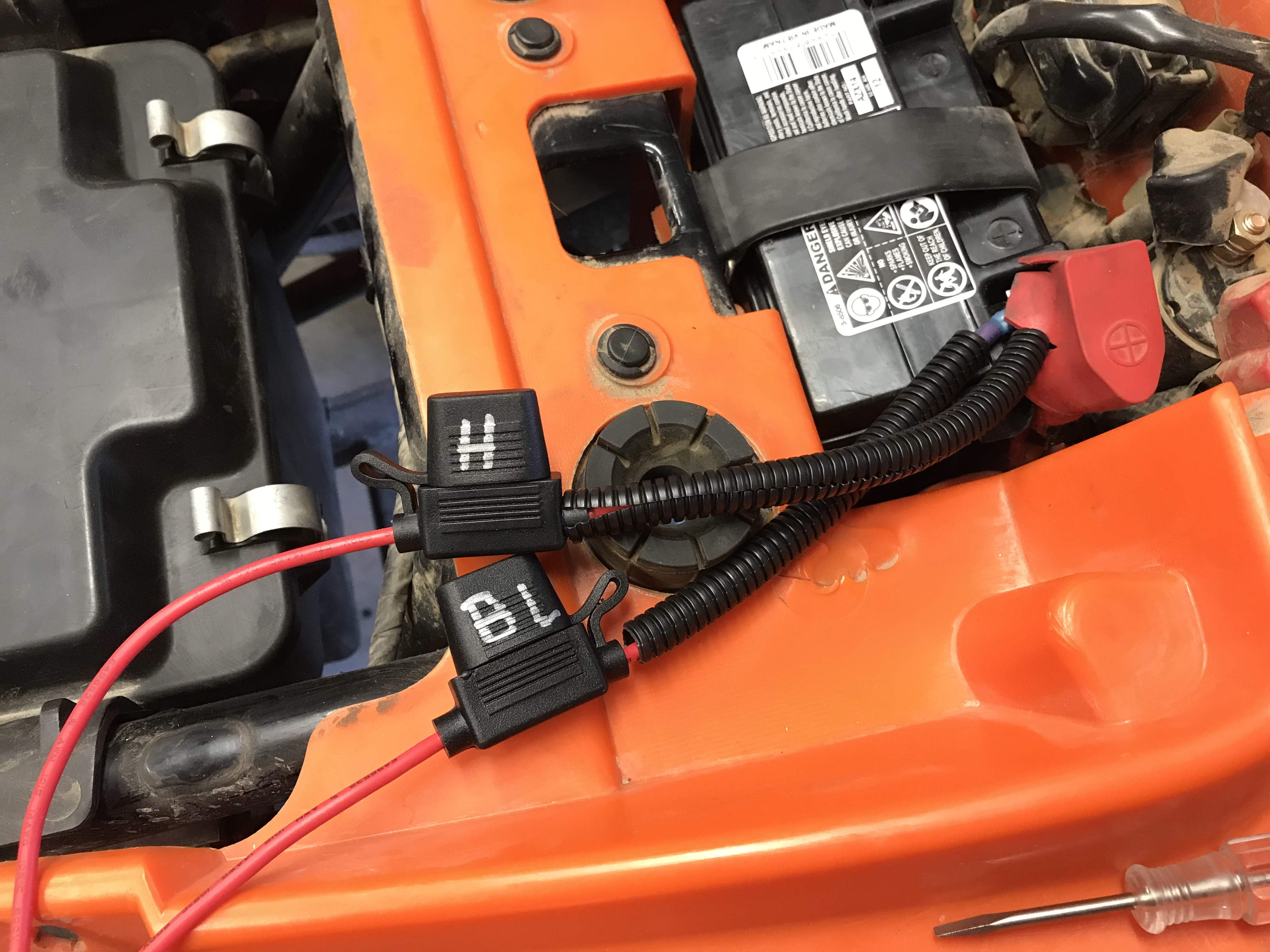 01 Rancher 350 Fe Brake Light