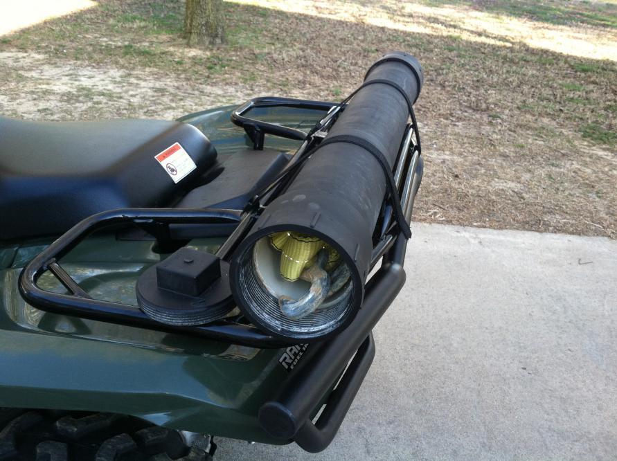 Rear Rack Storage Cheap Honda Atv Forum