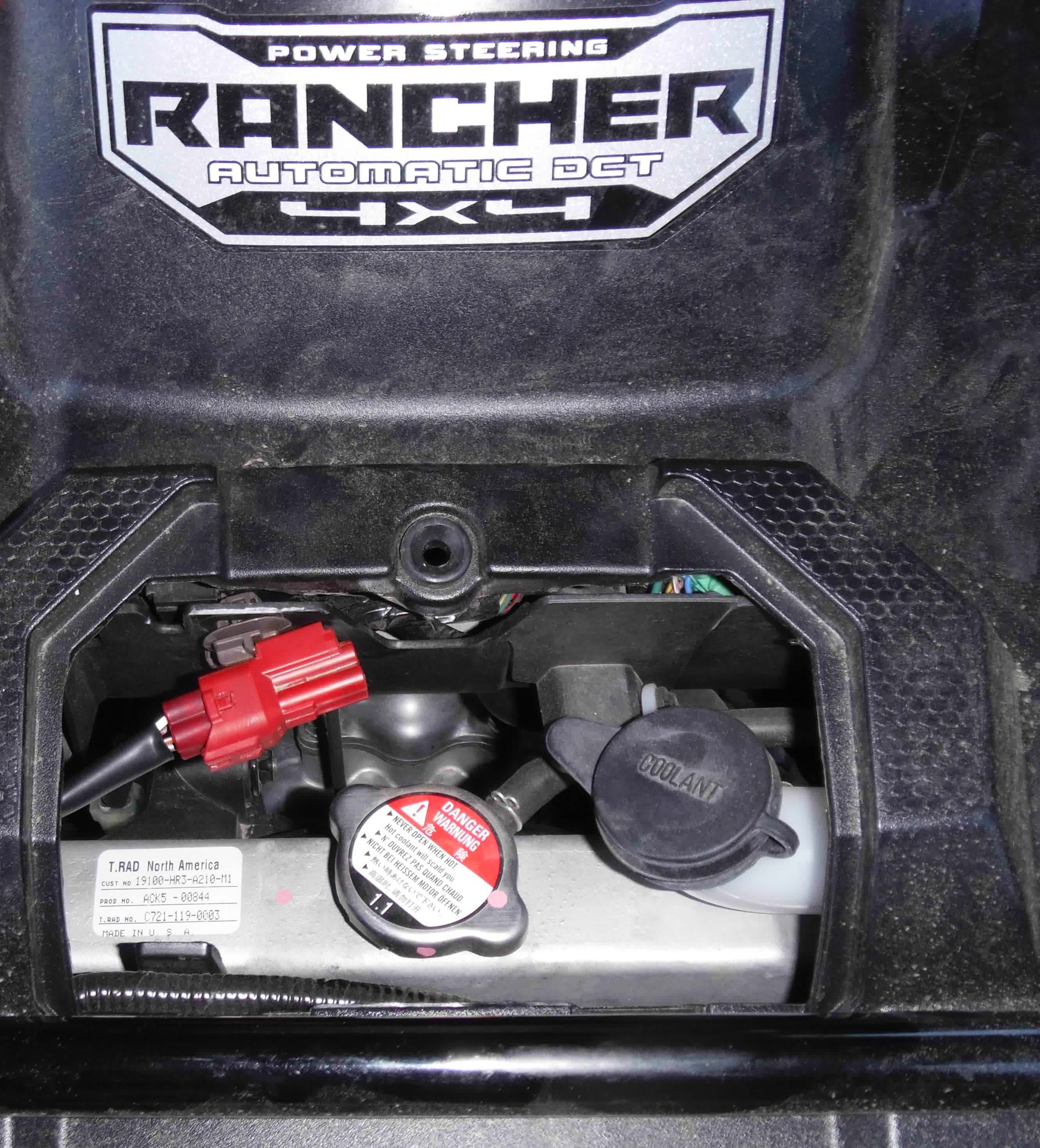 Wiring Harness For Honda Rancher : Rancher plug accessory questions honda atv forum