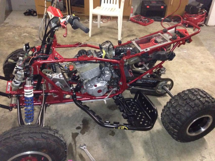 Race build almost done who wants run with me? - Honda ATV Forum