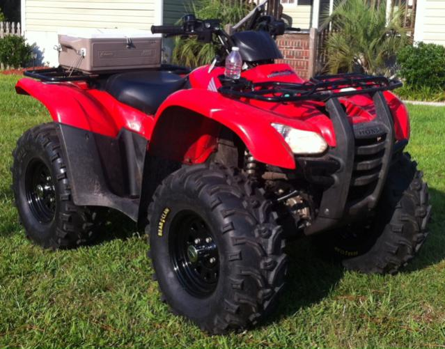 Bear Claw Tires and ITP Steel Wheels - Page 2 - Honda ATV ...