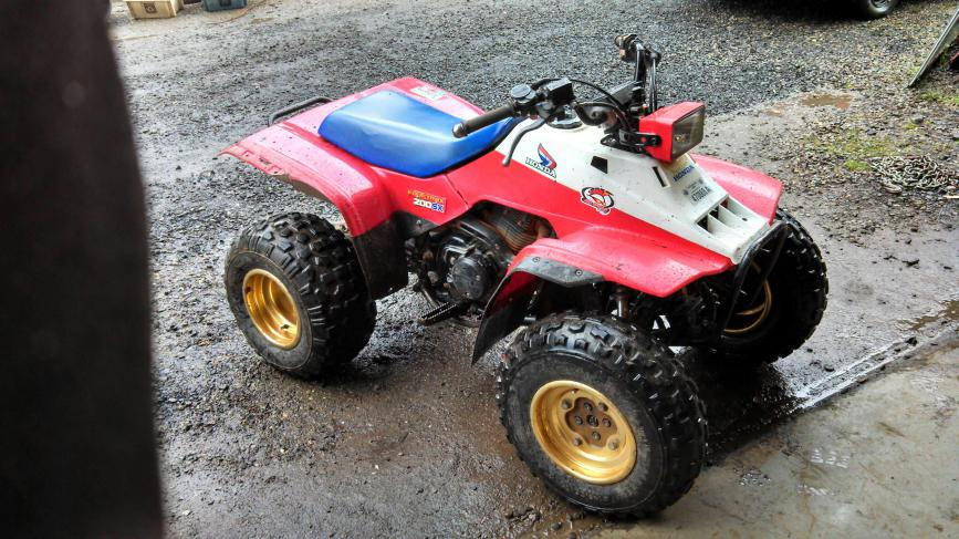 1986 Honda Fourtrax Parts