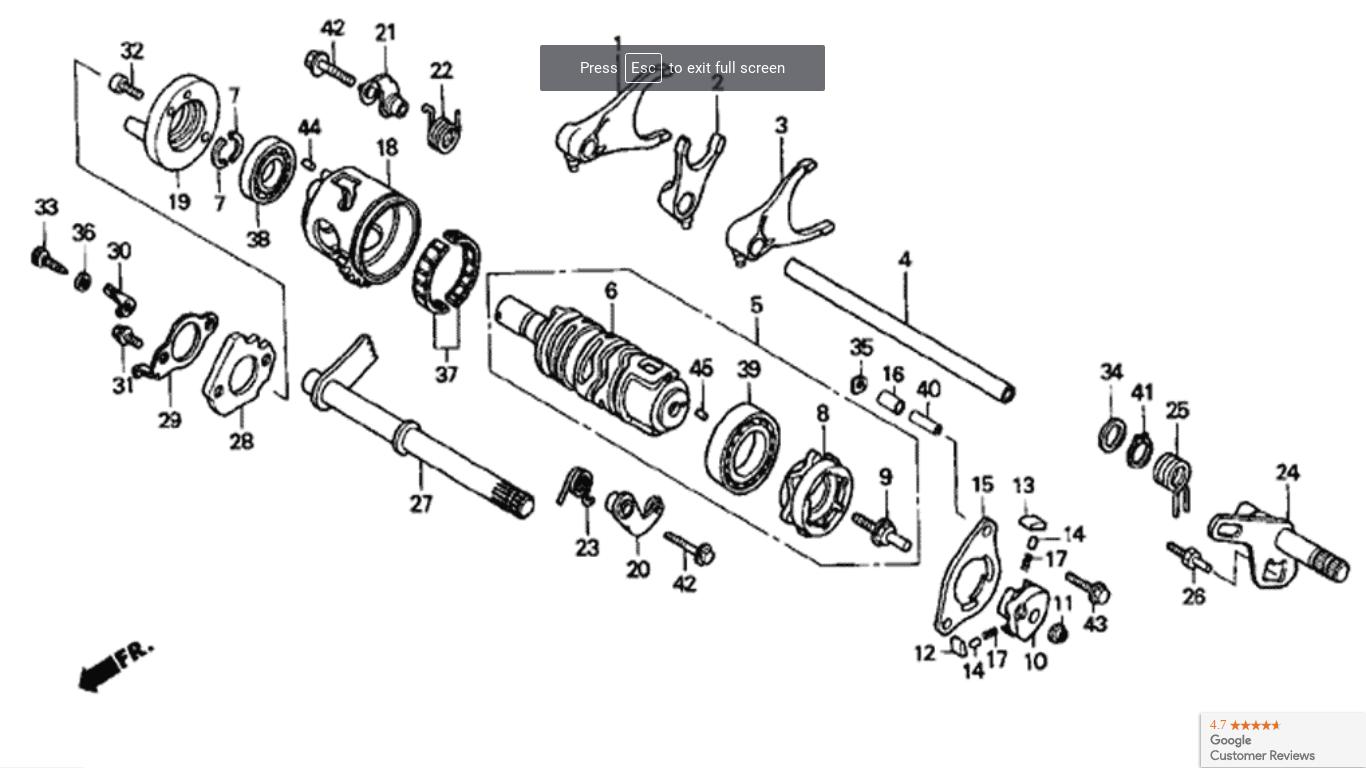 [DIAGRAM_09CH]  05 300ex Shift Problem After Repair | Honda ATV Forum | Honda 300ex Engine Diagram |  | Honda ATV Forum