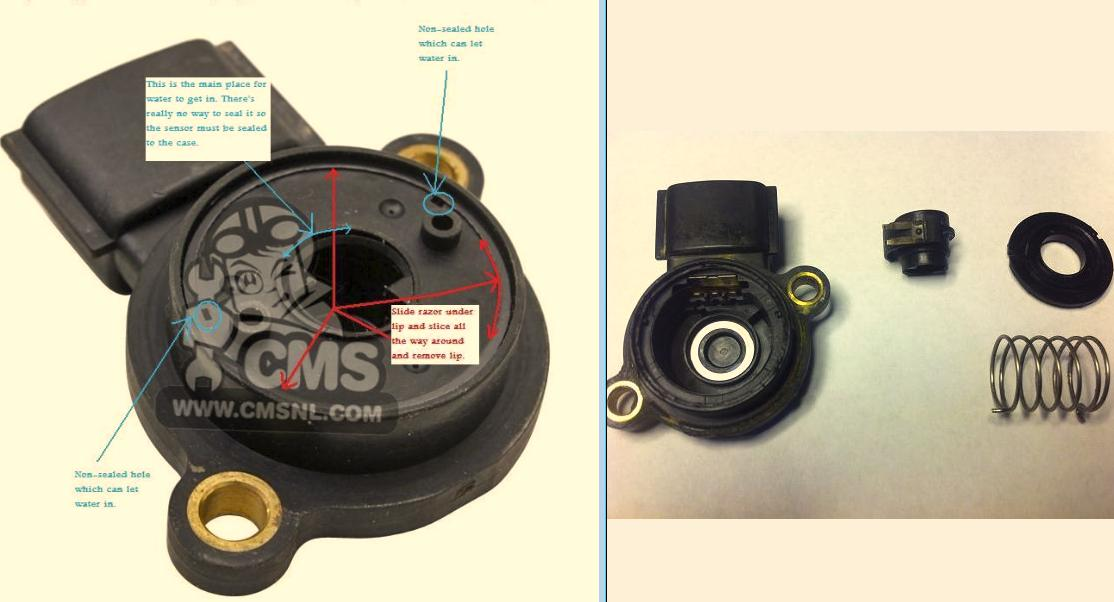 How To Fix A Bad Angle Sensor Honda Atv Forum