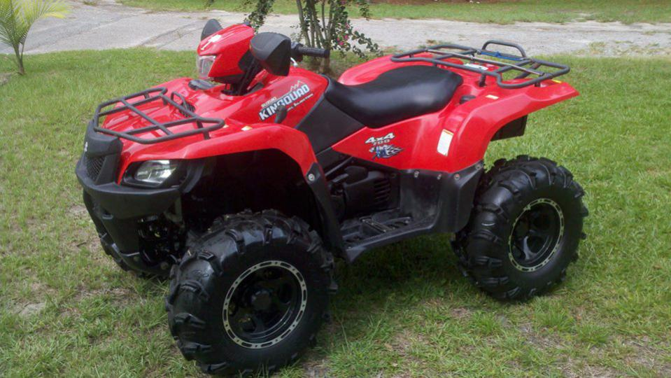 07 Suzuki King Quad 700 - Honda ATV Forum